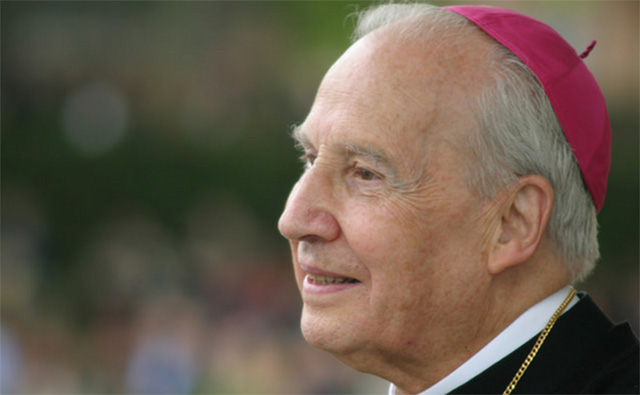 Bishop Echevarría of Opus Dei dies at 84