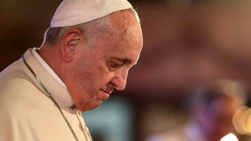 Pope Francis afte the four-day Meeting for the Protection of Minors