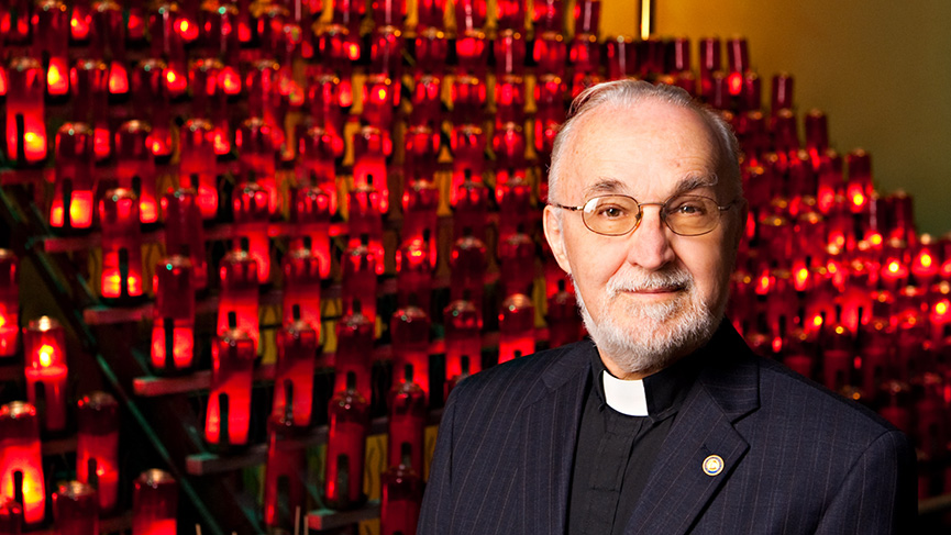 Father Claude Grou of Saint Joseph's Oratory of Mount Royal