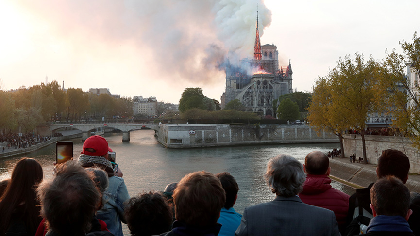 Fire at Notre-Dame Cathedral: Statement of the Archbishop