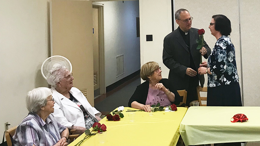Deaconate: remembering the widows