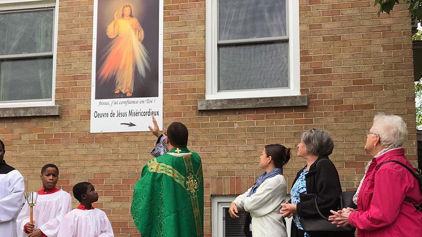 Un sanctuaire de la Miséricorde à Montréal