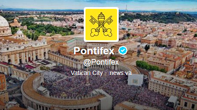 Pope Francis' followers on Twitter now exceed 27 million