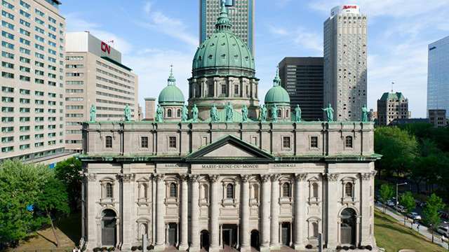 Mary Queen of the World Cathedral in Montreal