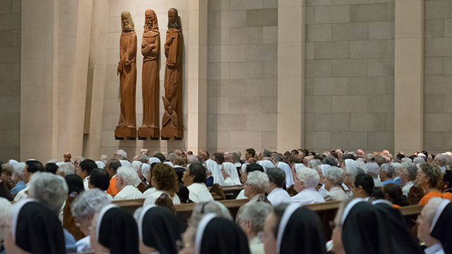 A Large-Scale Celebration for Consecrated Life