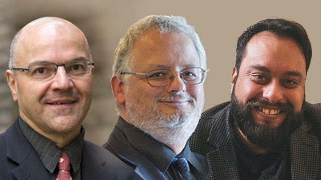 Seminarians Bruno Cloutier and Pascal Cyr will both be ordained transitional deacons