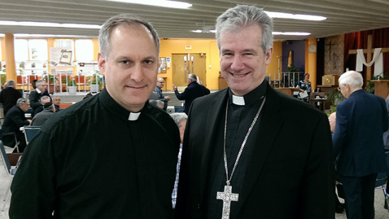 The Archbishop welcomes a new auxiliary bishop