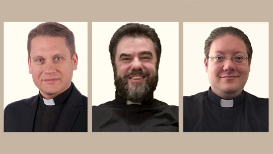 Three New Priests for Montreal