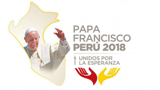 Official Logo of the Pope Francis' Apostolic Journey to Peru